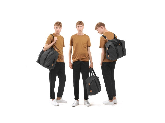 Qwstion Bags Simple Holdall Washed Black