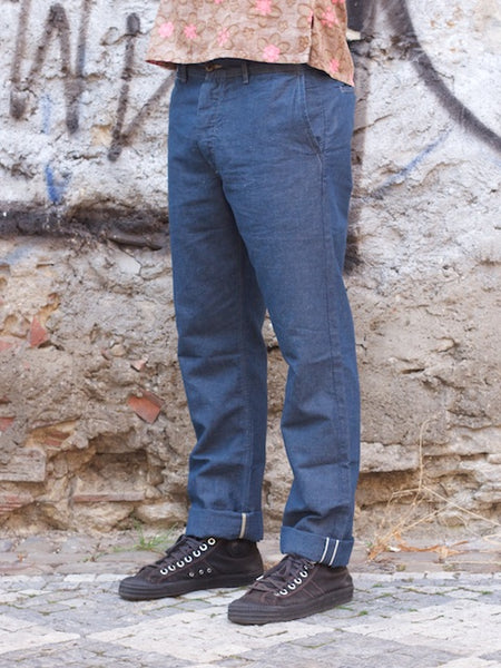 Runabout Goods Campus Chino Chambray