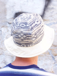 Stevenson Overall Reversible Hat Natural x Blue / Native Patern x Natural