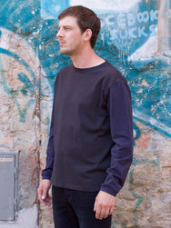 Indigofera Iconic LS Tee with Blackways