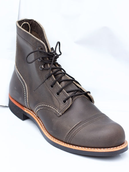 Red Wing Iron Ranger Charcoal Rough&Tough (8086)