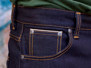 Nudie Jeans Dude Dan Dry Midnight Selvage