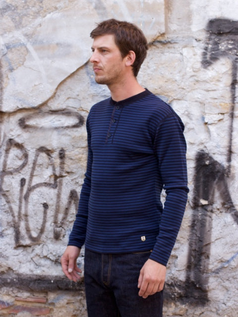 Armor Lux Pull Heritage - Rich Navy/Royal