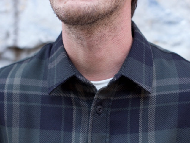 Wrenchmonkees Urban Checked Shirt, Peat