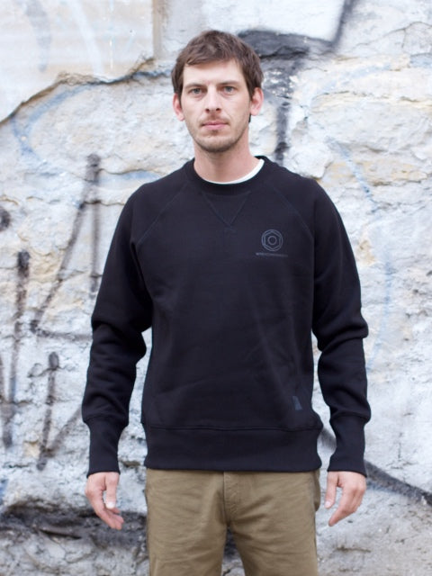 Wrenchmonkees Crew Neck, Black