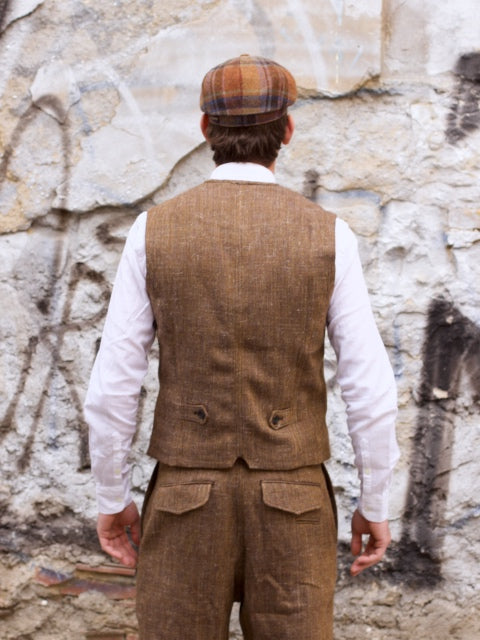 Hansen Garments William Vest, Cognac