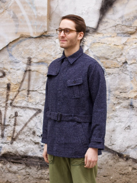 Japan Blue JBJK2070 - Denim Tweed Safari Jacket
