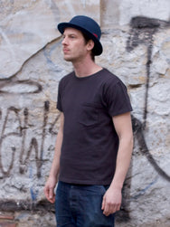 Indigofera Wilson Pocket Tee Marshall Black