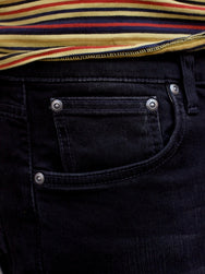 Nudie Jeans Lean Dean Black Star