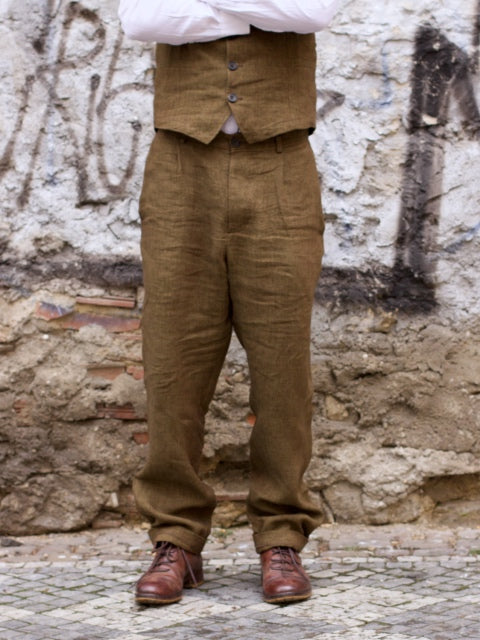 Hansen Garments Mads Trousers Seaweed
