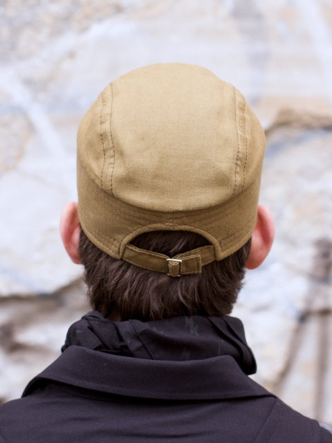 Hansen Garments Eskild Mechanics Cap Olive