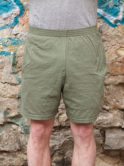 National Athletic Goods Track Shorts Army Green