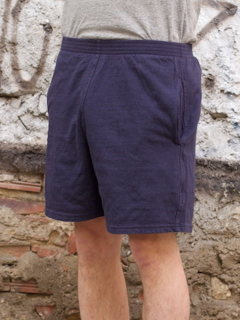 National Athletic Goods Track Shorts Navy