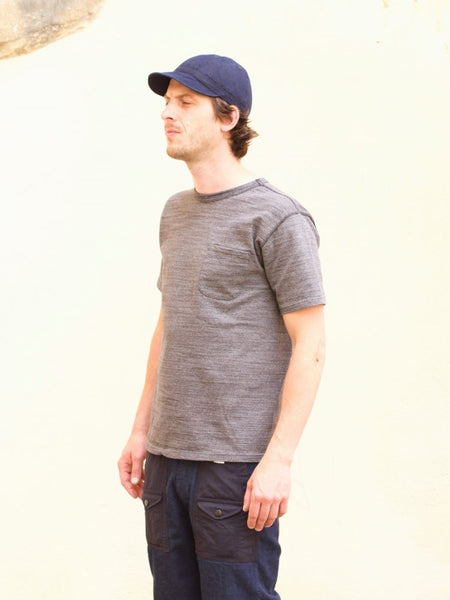 Studio d'Artisan 9916 Suvin Gold Pocket Tee Mock Black