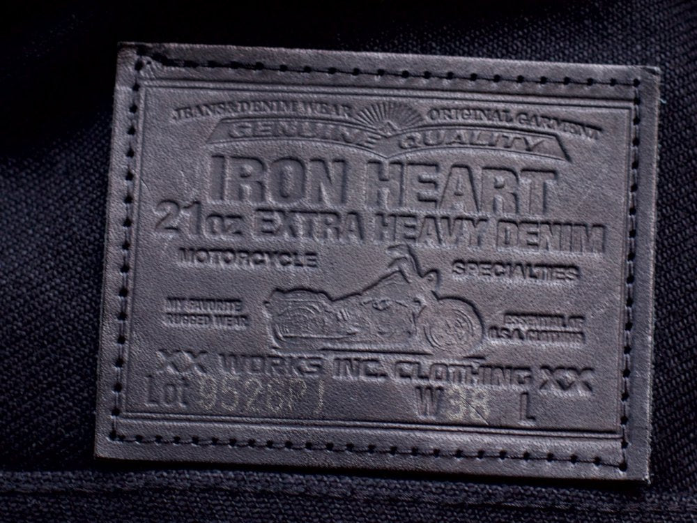 Iron Heart IH-9526PJ Denim Jacket with pockets