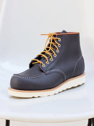 "Red Wing Moc Toe 6"" Navy Portage"