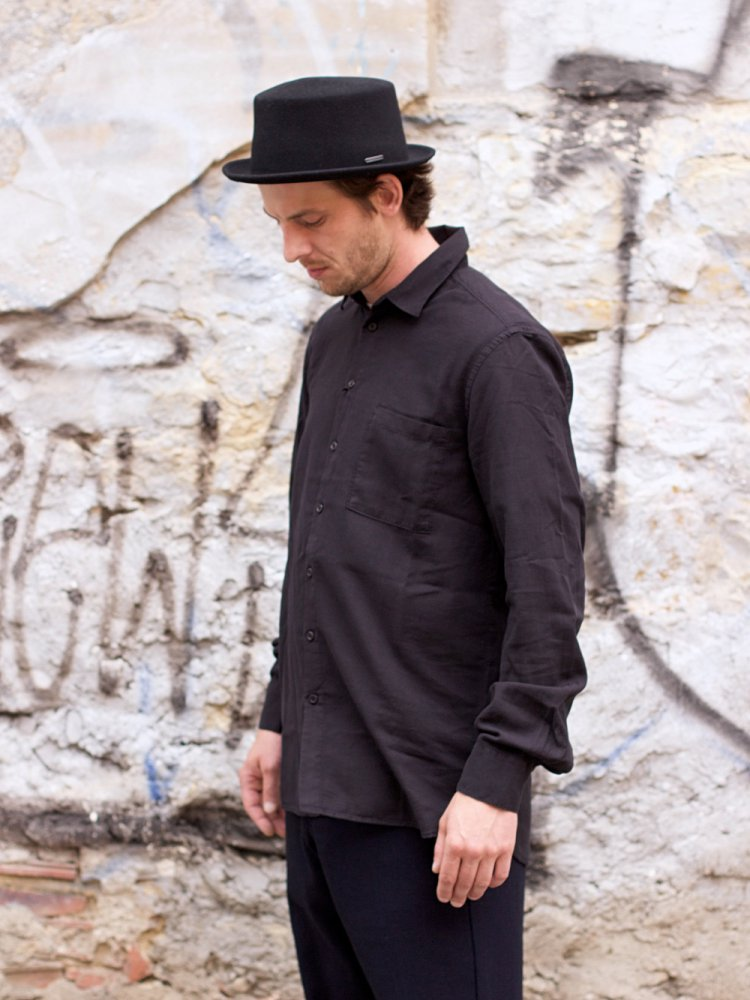Hansen Garments Henning Shirt, Black