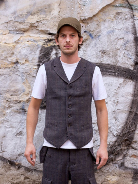 Hansen Garments William Waistcoat Trout