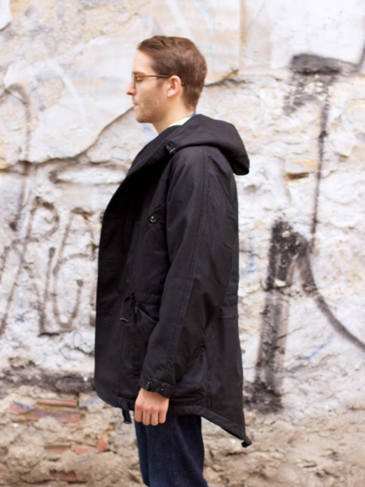 Hansen Garments Storm Parka Black