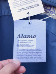 Indigofera Alamo Shirt Work Blue