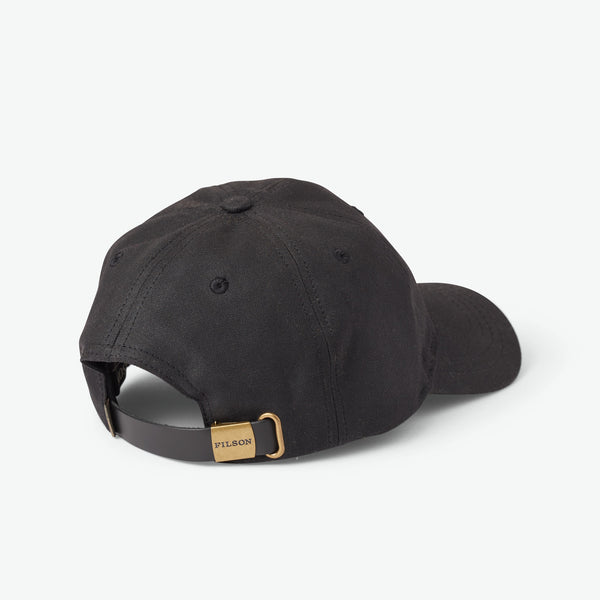 Filson Oil Tin Low-Profile Cap Black