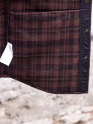 Filson Beartooth Jac Shirt Dark Brown/Charcoal Plaid