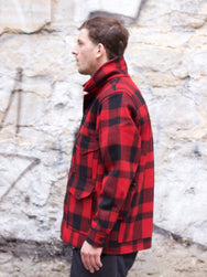 Filson Mackinaw Cruiser Jacket Red/Black