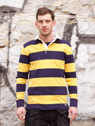 Armor Lux LS Stripe Rugby Shirt