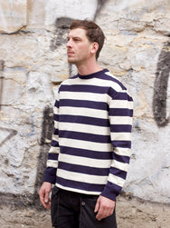Armor Lux Striped Sweater Heritage Navy/Nature