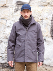Tilak Poutník Smith Jacket Ventile Charcoal