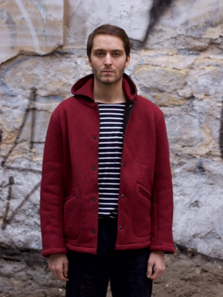 Stevenson Overall Co. Windmaster - WM1 Brick Red x Black