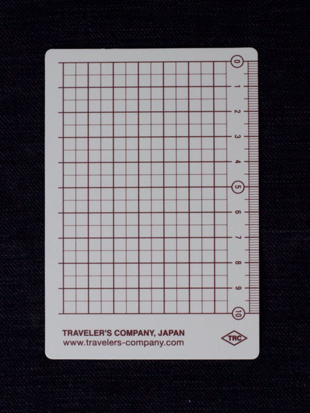 Traveler's Company 2019 Underlay PS