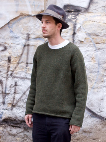 Indigofera Willow Wool Sweater Green