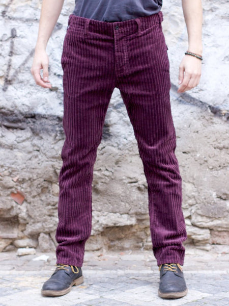 Nudie Jeans Regular Anton Wide Plum Cord