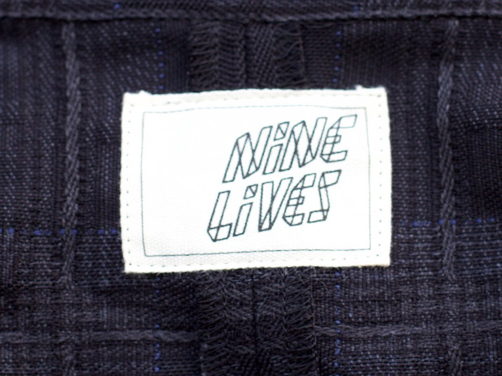 Nine Lives Short-Circuit Check Shirt Shadow Country