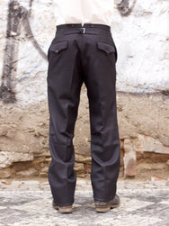 Black Sign Army Serge Butler Pants