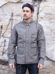 Studio d'Artisan 5619 Mr.Mountain Shirt Grey