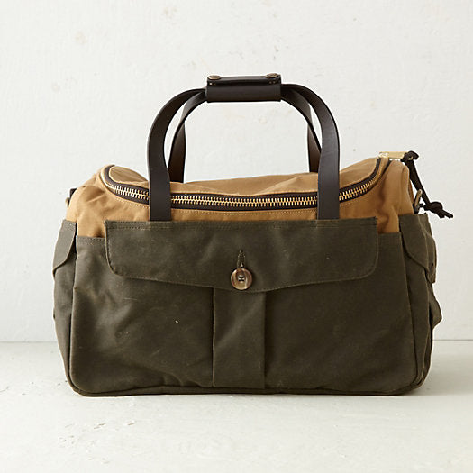Filson Heritage Sportsman bag Tan/Otter Green