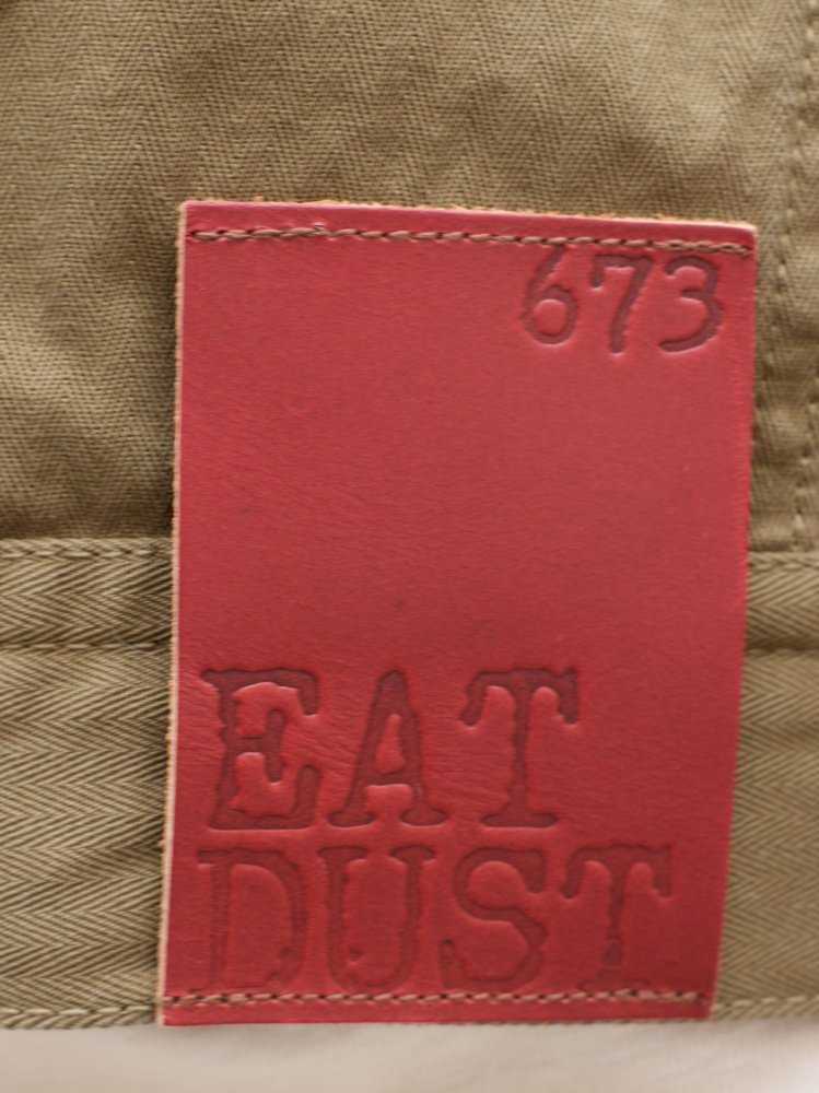Eat Dust 763 Trucker Jacket Dark Olive