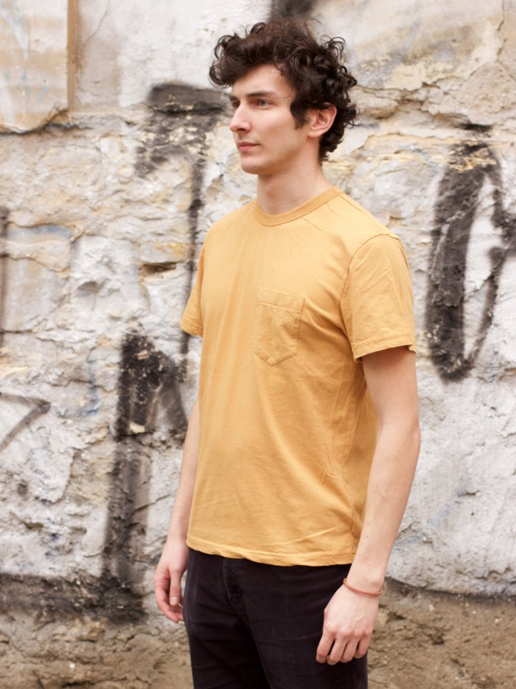 Homespun Knitwear Dad's Pocket Tee Straw