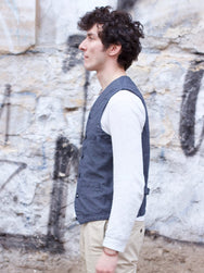 Japan Blue JBVB05 Urban Vest Black