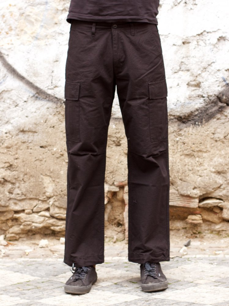 Japan Blue JB1700 Military Cargo Pants Black