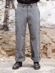 Black Sign Code Lane Stripe Harbour Trousers