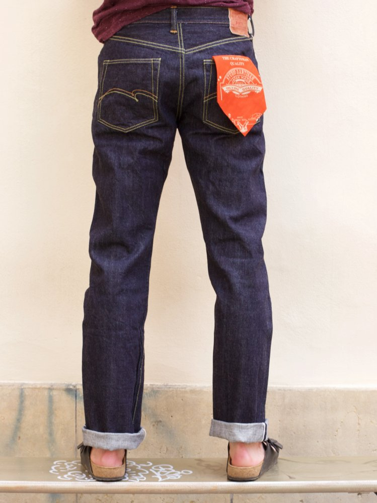 Studio d'Artisan SP-030 Slim Straight 40th Anniversary Jeans