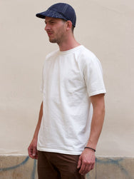 Studio d'Artisan 9913 Loopwheeled Tee White