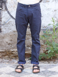 Indigofera Hayes Pants Chicago Stripe