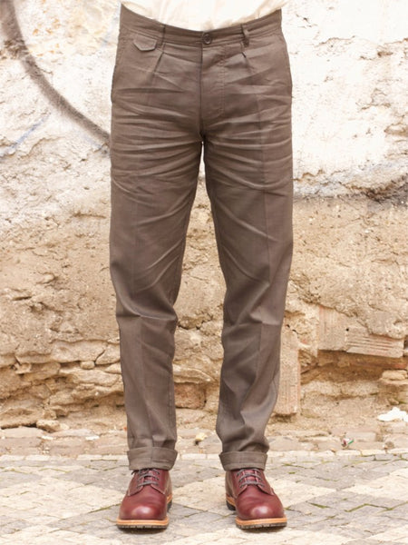 Hansen Garments Frank trousers, Khaki