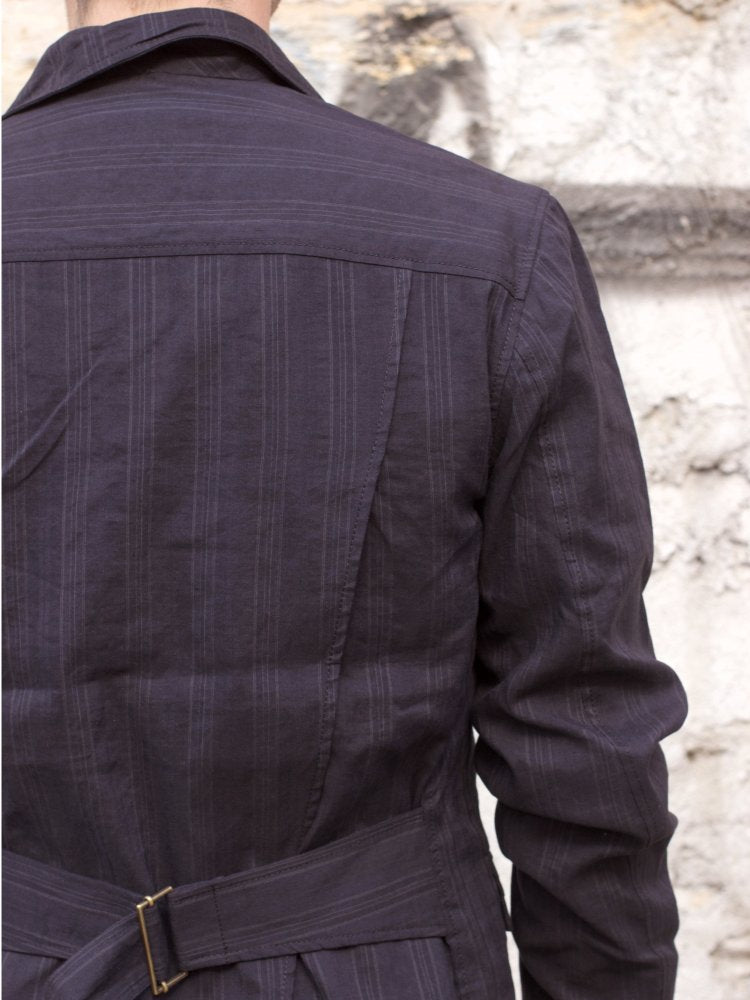 Hansen Garments Simon, Black Stripe