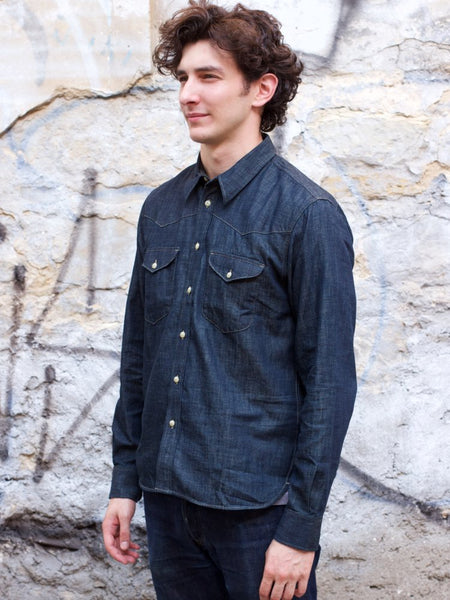 Indigofera Manolito Denim Shirt