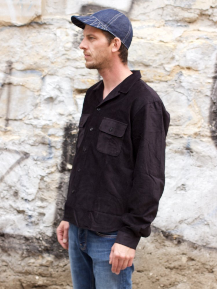 Indigofera Willoughby Shirt Black
